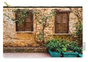 A Wall In Chania Carry-all Pouch
