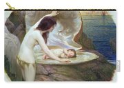 A Water Baby Carry-all Pouch by Herbert James Draper