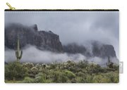 A Wave Of Fog On The Superstitions  Carry-all Pouch