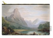A Welsh Valley Carry-all Pouch by John Varley