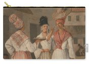 A West Indian Flower Girl And Two Other Free Women Of Color Carry-all Pouch