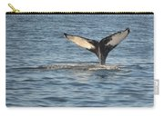 A Whale Of A Tail Bar Harbor Carry-all Pouch