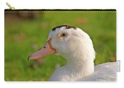 A White Duck, Side View Carry-all Pouch
