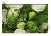 A White Roses Bouquet For You Carry-all Pouch
