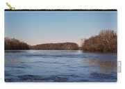 A Windswept River In March Carry-all Pouch