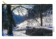A Winter Walk In The Black Forest Carry-all Pouch
