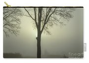A Winter's Day In The Fog Carry-all Pouch