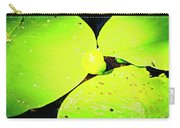 A Yellow Bud Of Waterlily Carry-all Pouch