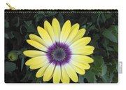 A Yellow Daisy Exhibit Carry-all Pouch