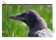 A Young Crow Carry-all Pouch