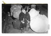 A Young Evacuee Of Japanese Ancestry Carry-all Pouch by Stocktrek Images