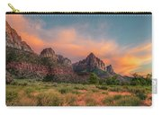 A Zion Sunset Carry-all Pouch