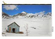 Abandon Building Alaskan Mountains Carry-all Pouch