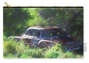 Abandoned 1950 Chevy Dop Carry-all Pouch by David King