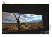 Abandoned Cabin Eastern Sierra Nevadas Carry-all Pouch