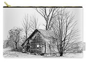 Abandoned Farmhouse In The Michigan Countryside Carry-all Pouch