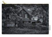 Abandoned Home In Lubec Maine Bw Version Carry-all Pouch