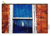 Abandoned House Window With Vines Carry-all Pouch