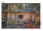 Abandoned Log Cabin Carry-all Pouch