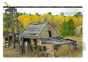 Abandoned Mine In Autumn Carry-all Pouch