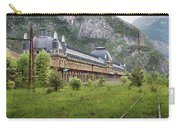 Abandoned Side Of The Canfranc International Railway Station Carry-all Pouch