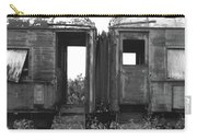 Abandoned Train Cars B Carry-all Pouch