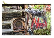 Abandoned Truck With Spray Paint Carry-all Pouch