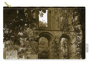 Abbey In Kelso. Carry-all Pouch
