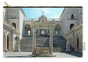 Abbey Of Montecassino Courtyard Carry-all Pouch