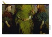 Abbott Handerson Thayer - Mother And Children Carry-all Pouch