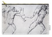 Abduction Of A Woman Rape Of The Sabine Women 1495 Carry-all Pouch