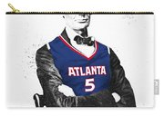 Abe Lincoln In A Josh Smith Atlanta Hawks Jersey Carry-all Pouch