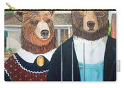 Abearican Gothic Carry-all Pouch
