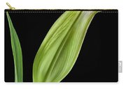White Oriental Lily About To Bloom Carry-all Pouch