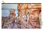 Above Canyonlands Campground Carry-all Pouch