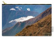 Above The Clouds In The Andes Carry-all Pouch
