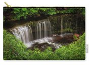 Above The Sgwd Isaf Clun-gwyn Waterfall Carry-all Pouch