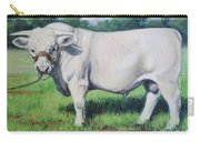 Abraham, French Charolais Bull Carry-all Pouch