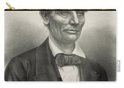 Abraham Lincoln - As A Presidential Candidate Carry-all Pouch