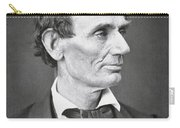 Abraham Lincoln Carry-all Pouch by Alexander Hesler
