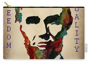 Abraham Lincoln Leader Qualities Carry-all Pouch