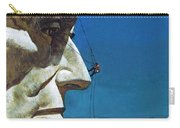 Abraham Lincoln's Nose On The Mount Rushmore National Memorial  Carry-all Pouch