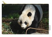 Absolutely Beautiful Giant Panda Bear With A Sweet Face Carry-all Pouch