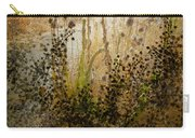 Abstract -  Burning Bush Carry-all Pouch
