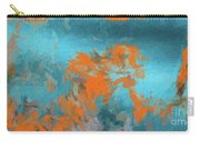 Abstract 104 Digital Oil Painting On Canvas Full Of Texture And Brig Carry-all Pouch