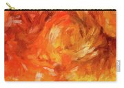 Abstract 106 Digital Oil Painting On Canvas Full Of Texture And Brig Carry-all Pouch