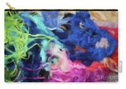 Abstract 130 Digital Oil Painting On Canvas Full Of Texture And Brig Carry-all Pouch