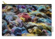 Abstract 133 Digital Oil Painting On Canvas Full Of Texture And Brig Carry-all Pouch