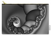 Abstract 210 Bw Carry-all Pouch