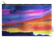 Joan's Sunset Carry-all Pouch